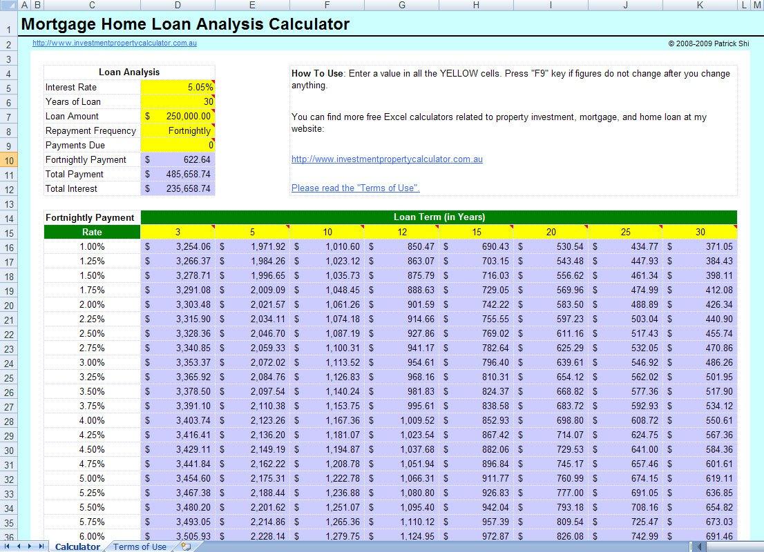 Mortgage Calculator Spreadsheet Uk Pertaining To Mortgage Calculator Spreadsheet Amortization Overpayment Uk Extra