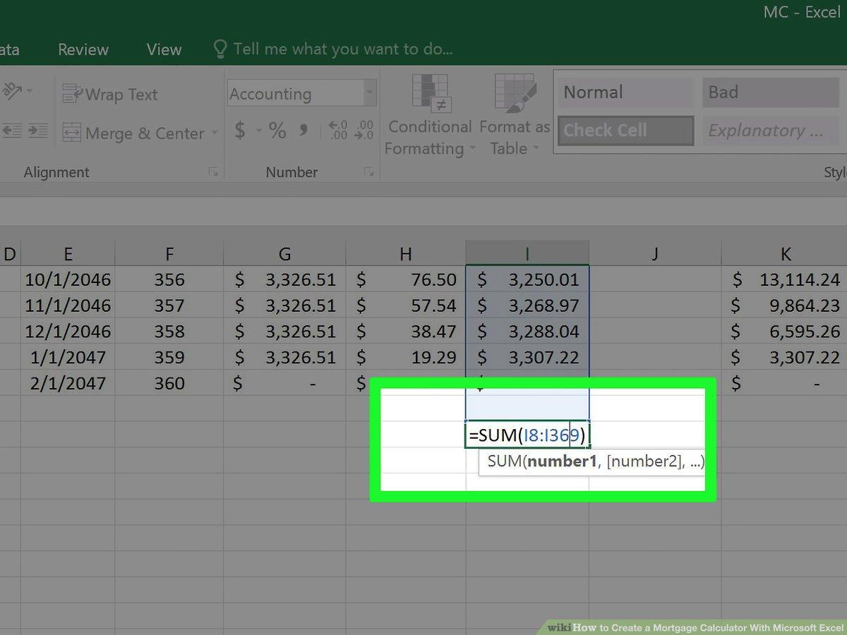 Mortgage Calculator Spreadsheet Uk Within 3 Ways To Create A Mortgage Calculator With Microsoft Excel