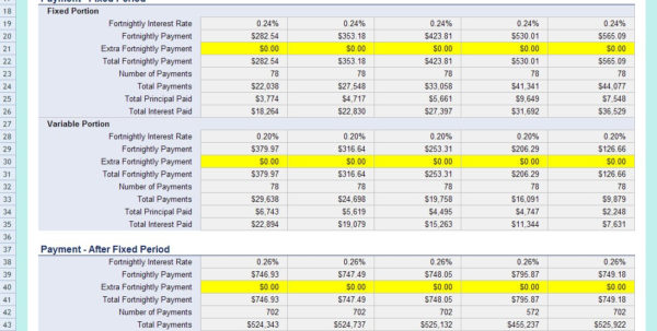 Mortgage Comparison Spreadsheet Excel Throughout Mortgage Comparison Excel Spreadsheet