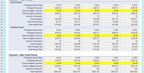 Mortgage Comparison Spreadsheet In Mortgage Comparison Excel Spreadsheet