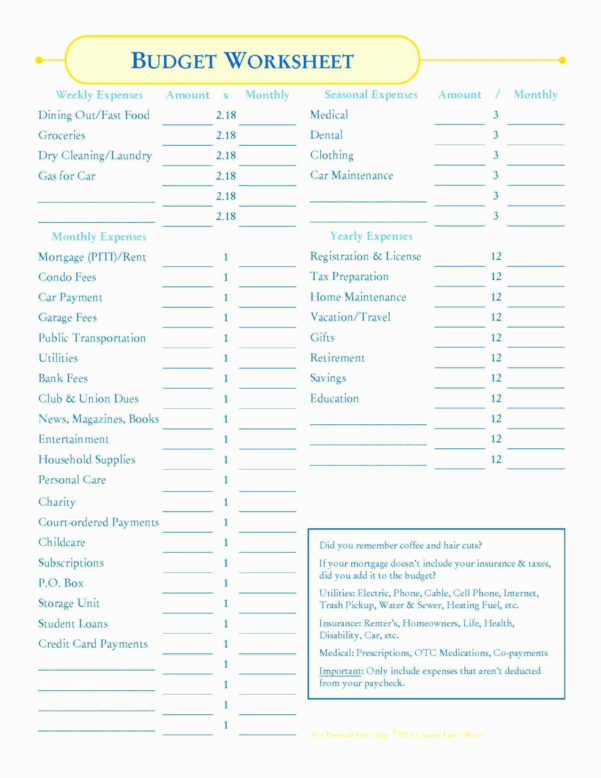 Mortgage Expenses Spreadsheet Inside 9 Lovely Monthly Household Expenses Template  Document Template Ideas