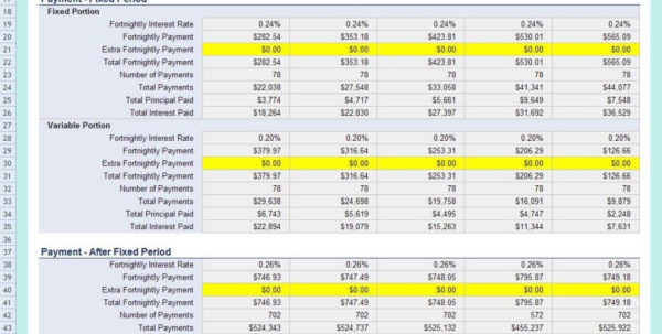 Mortgage Rate Comparison Spreadsheet Pertaining To Home Loan Rate Comparison Chart And Mortgage Refinance Comparison