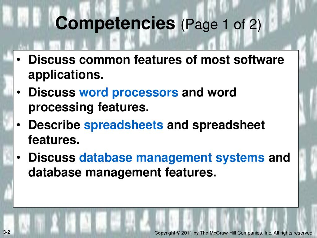 Most Spreadsheet Software Also Includes Basic Data Management Features Within Basic Application Software  Ppt Download
