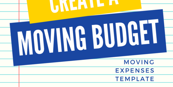 Moving Budget Spreadsheet Regarding Create A Realistic Moving Budget Using This Guide