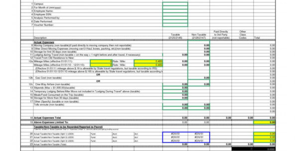 Moving Expense Spreadsheet Regarding 39 Luxury Relocation Expenses Spreadsheet  Project Spreadsheet