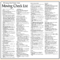 Moving House Checklist Spreadsheet Pertaining To Business Moving Checklist Template Fresh Moving Checklist