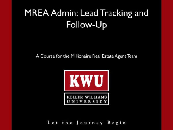 Mrea Business Planning Spreadsheet Inside Mrea Admin: Lead Tracking And Followup  Ppt Download