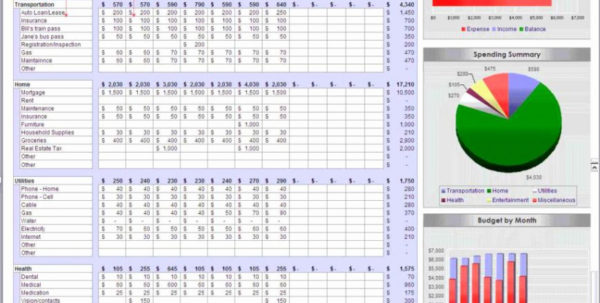 Ms Excel Spreadsheet Inside Free Budget Spreadsheet Templates Bud Spreadsheet Excel Ms Excel