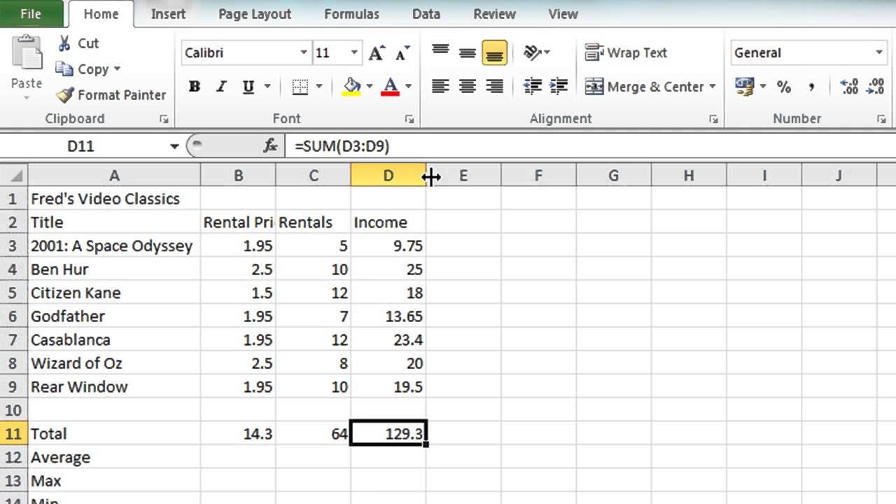 Ms Excel Spreadsheet Tutorial In Microsoft Excel Spreadsheet Tutorial Awesome Free Spreadsheet