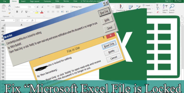 """Ms Excel Spreadsheet Tutorial Pertaining To Solved] Tutorial To Fix """"Microsoft Excel File Is Locked For Editing"""