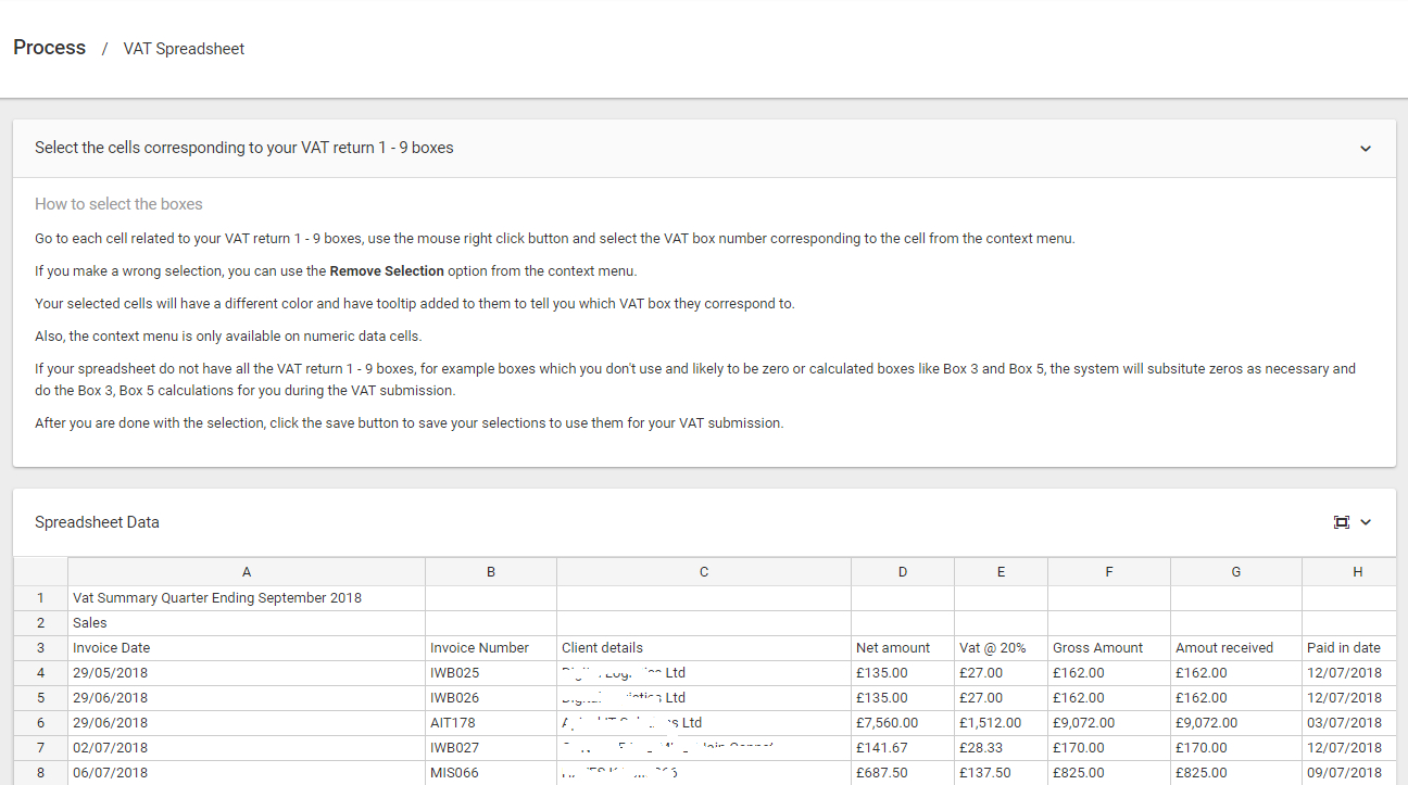 Mtd Spreadsheets In Making Tax Digital  Excel Spreadsheet Bridging