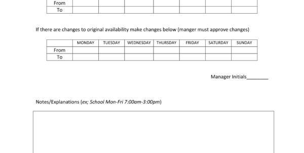 Mttr Calculation Spreadsheet Throughout Availability Form Employee Schedule Fearsome Templates Template