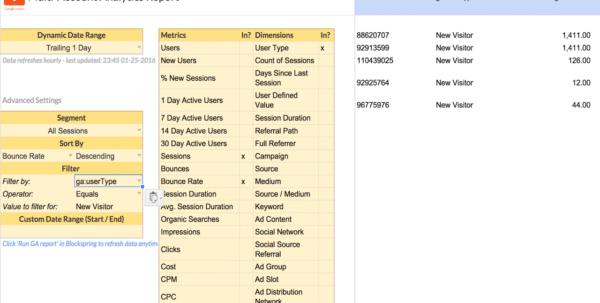 Multi User Spreadsheet Intended For Multiaccount Analytics Report  Spreadsheet Template In Google