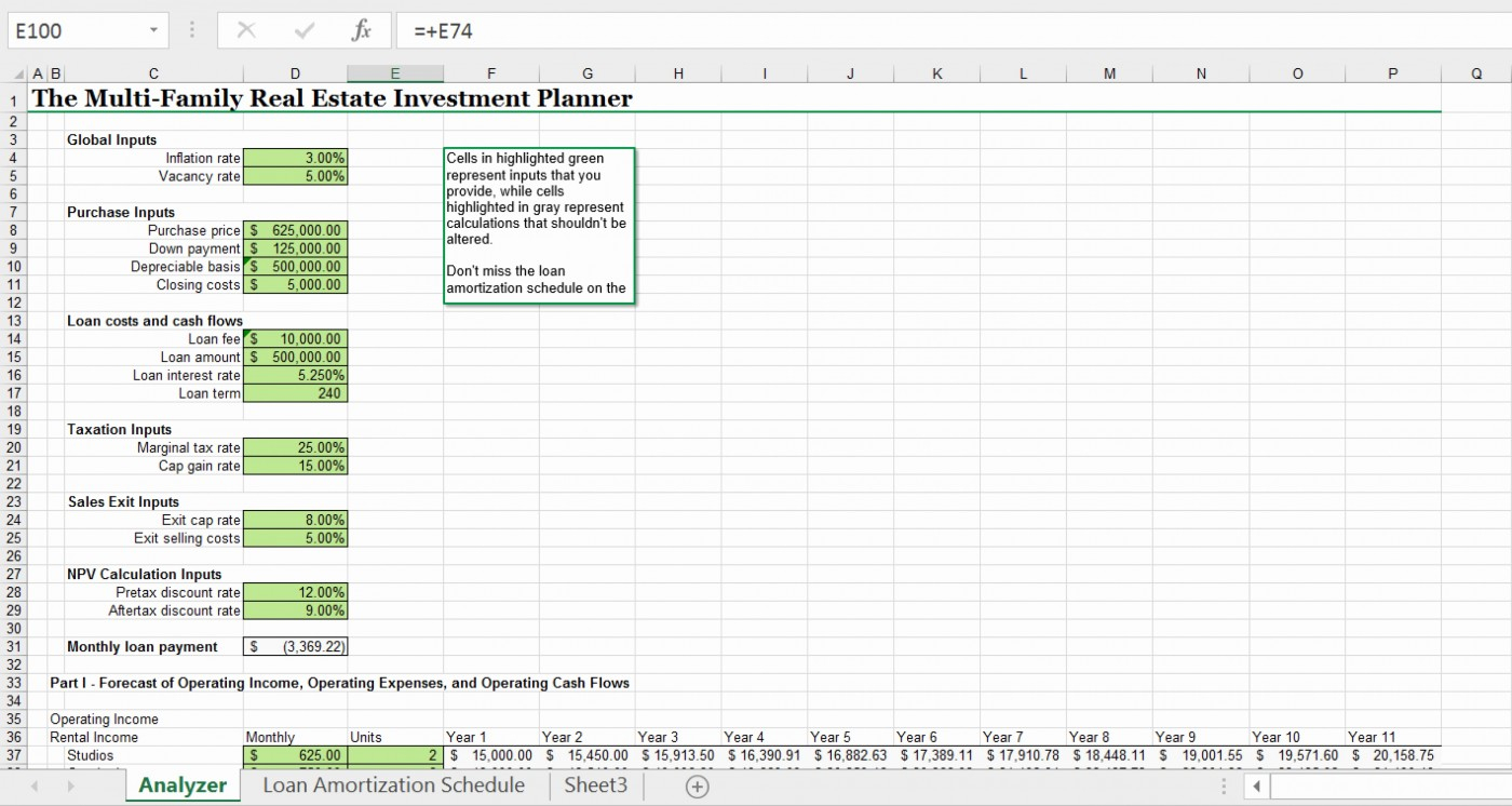 Multifamily Investment Spreadsheet Throughout 001 Template Ideas Maxresdefault Real Estate Excel ~ Ulyssesroom