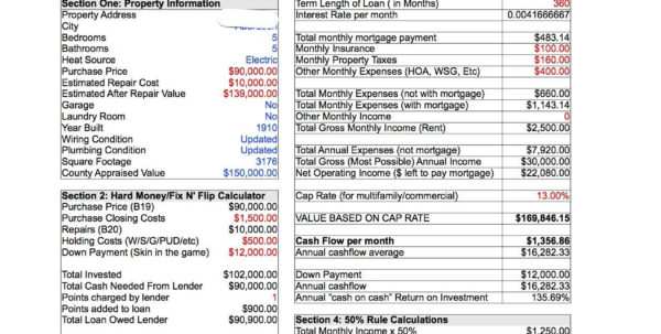 Multifamily Investment Spreadsheet Throughout Buy A Small Multifamily Property Stepcase Study Investment