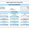 Multiple Credit Card Payoff Calculator Spreadsheet Inside Multiple Credit Card Payoff Calculator Spreadsheet – Spreadsheet