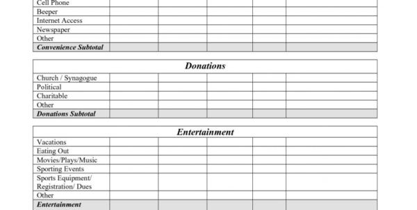 My Budget Spreadsheet For Example Of Bi Weekly Budget Spreadsheet Templatemple My Templates
