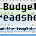 My Budget Spreadsheet In How I Keep Track Of My Budget, Free Template  No More Waffles