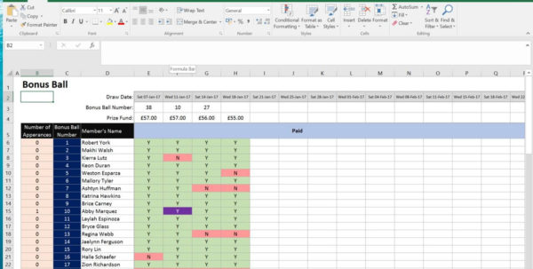 National Lottery Syndicate Spreadsheet Inside Uk National Lottery, Lotto Bingo And Bonus Ball Syndicate For Work National Lottery Syndicate Spreadsheet Google Spreadsheet