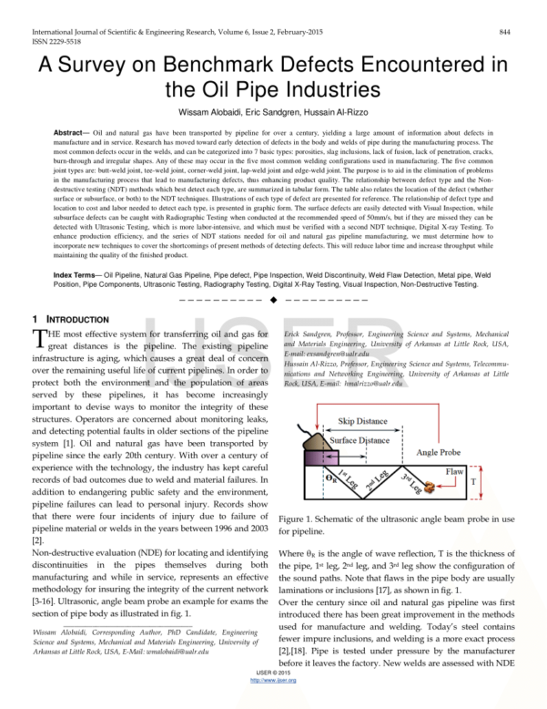 Natural Gas Pipe Sizing Spreadsheet In Pdf Applications Of Ultrasonic Techniques In Oil And Gas Pipeline