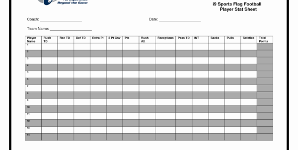Ncaa Football Spreadsheet In College Football Spreadsheet Elegant Football Score Sheet Format