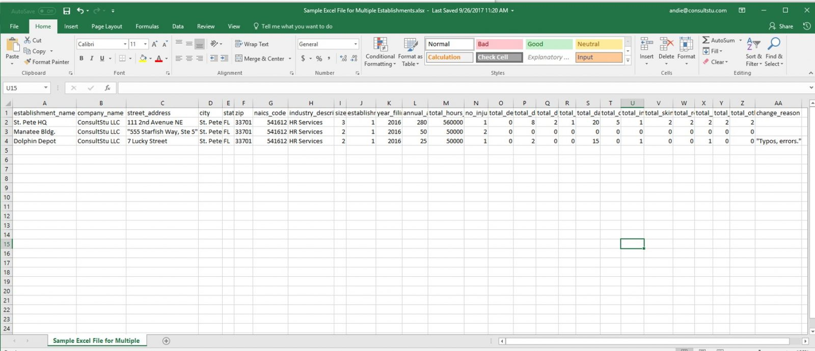 Ncci Edits 2018 Excel Spreadsheet Within Ncci Edits Excel Spreadsheet Sample Multiple Establishments Examples