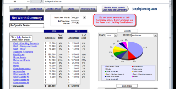 Net Worth Calculator Spreadsheet Within Personal Networth Calculator Excel Template Trader – The
