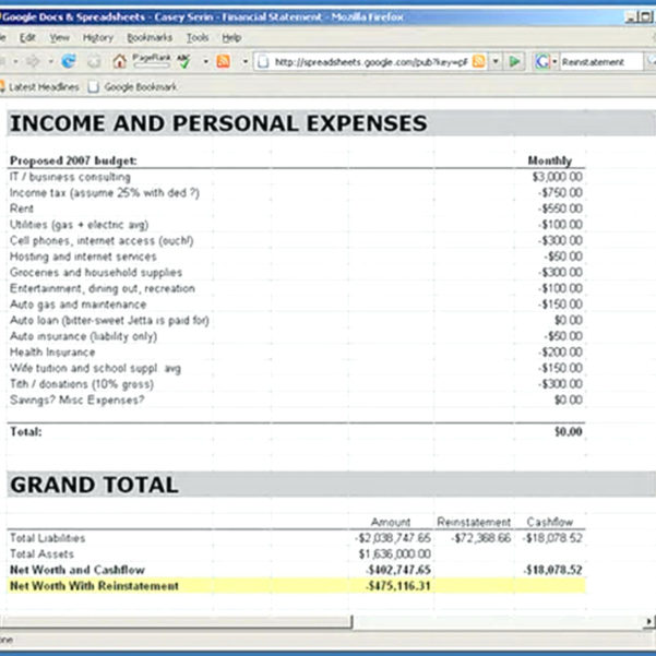 Net Worth Spreadsheet Google Sheets For Personal Income And Expense Statement Template Fresh Yearly Report