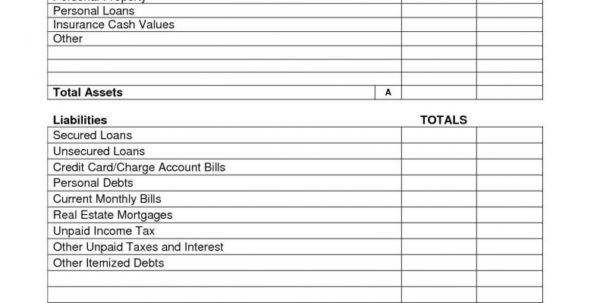 Net Worth Spreadsheet Template Pertaining To Personal Income Statement Template Excel Use Net Worth Calculatoreet