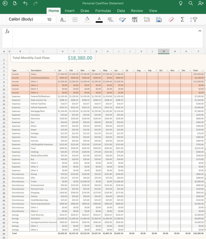 Net Worth Tracker Spreadsheet Throughout 3 Simple Spreadsheets To Take Control Of Your Finances