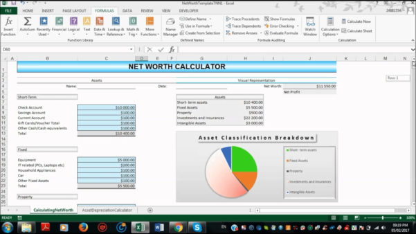 Net Worth Tracker Spreadsheet With Net Worth Spreadsheet  Askoverflow