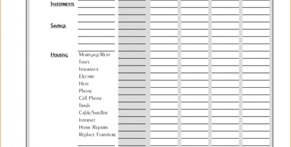 New Home Budget Spreadsheet Pertaining To Example Of New Home Budget Spreadsheet Simple Worksheet Excelheets
