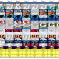 Nfl Picks Spreadsheet In Nfl Pick 'em  In Ms Excel : Excel