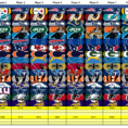 Nfl Scores Spreadsheet Inside Nfl Pick 'em  In Ms Excel : Excel