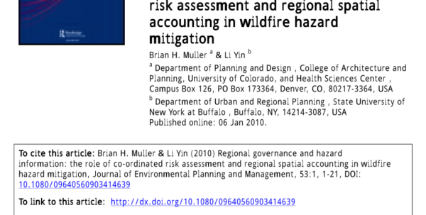 Nfpa 99 Risk Assessment Spreadsheet Inside Pdf Regional Governance And Hazard Information: The Role Of Co