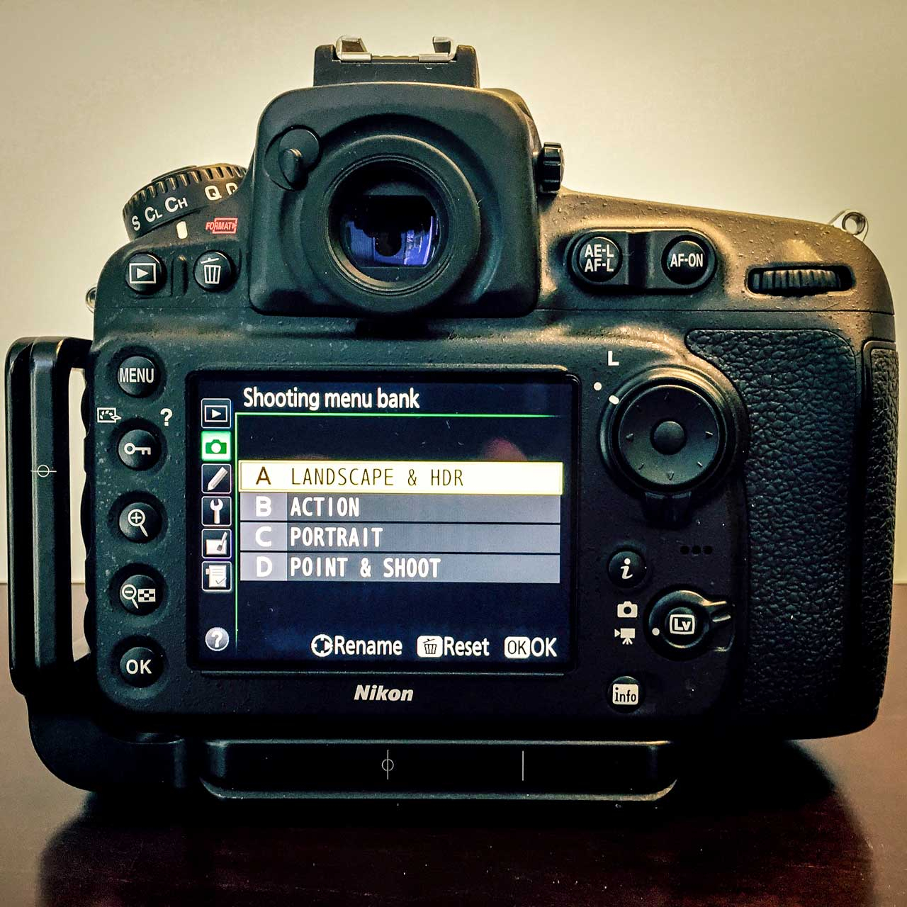 Nikon D800 Settings Spreadsheet Regarding Nikon D810 Setup And Configuration  Mike Heller Photography