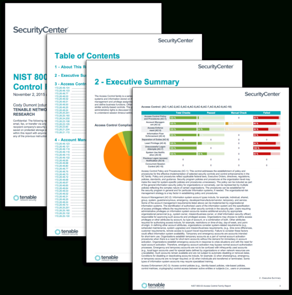 Nist 800 53 Controls Spreadsheet Xls Throughout Nist 80053 Family Reports  Sc Report Template  Tenable®