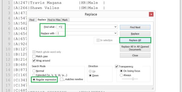 Notepad Spreadsheet Throughout Edit Columns In Notepad   With Textfx Plugin  Cathrine Wilhelmsen