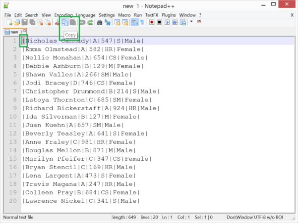 Notepad Spreadsheet Within Edit Columns In Notepad   With Textfx Plugin  Cathrine Wilhelmsen