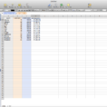 Numbers Spreadsheet In Numbers Software