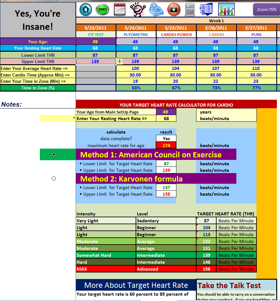 Nutrition Spreadsheet With P90X Spreadsheet Excel  Homebiz4U2Profit