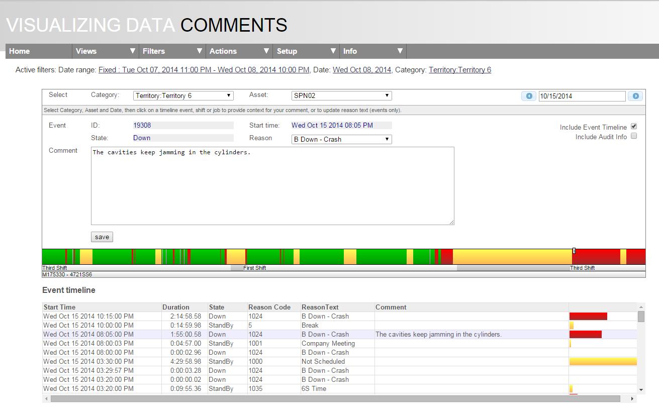 Oee Tracking Spreadsheet Throughout Oee Alert