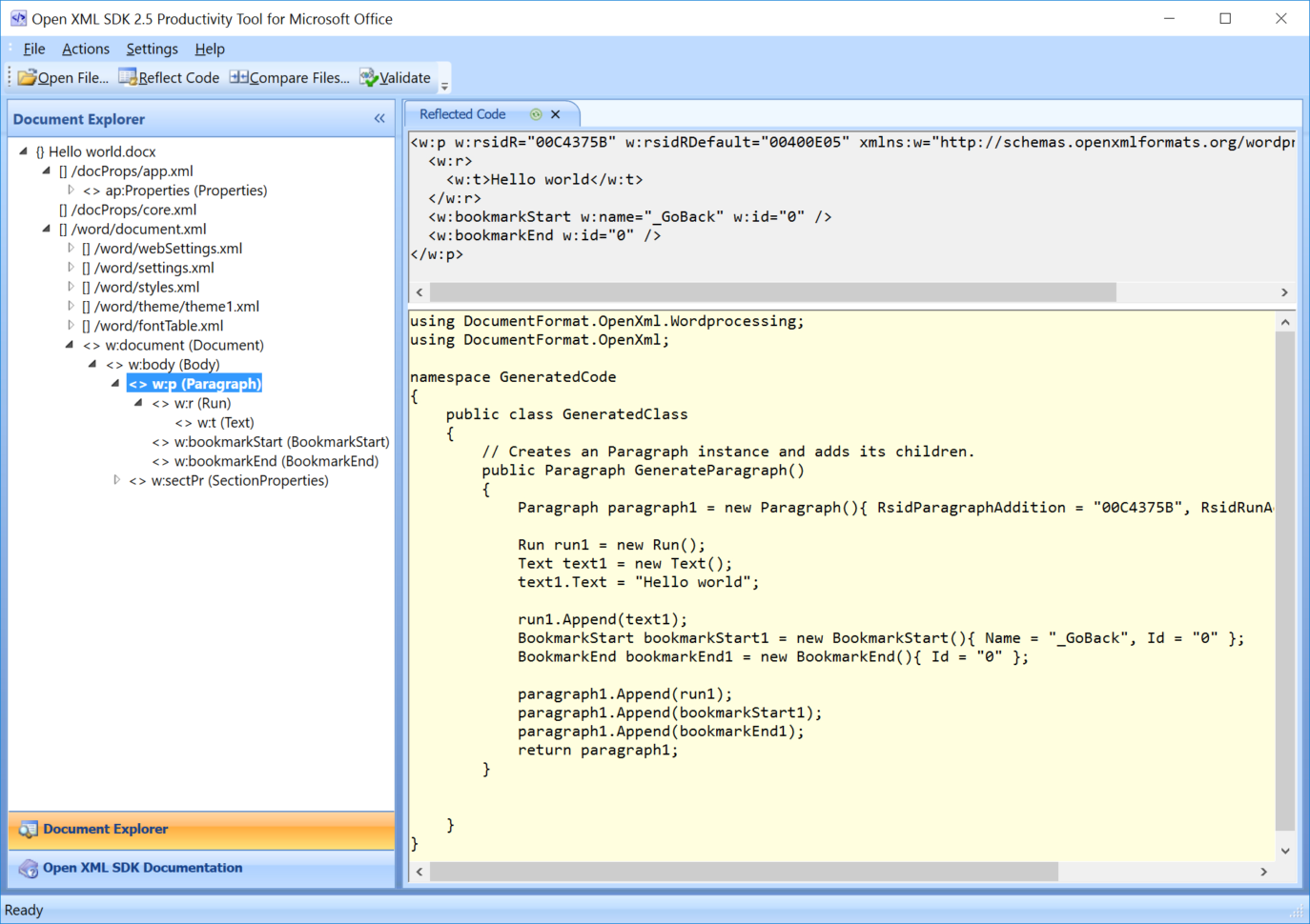 Office Open Xml Spreadsheet With Regard To Getting Started With Openxml  Openxml Tutorial