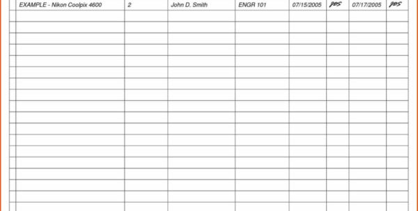 Office Spreadsheet Templates With Regard To Download Equipment Inventory List Spreadsheet With Bar Plus Office