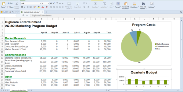 Office Spreadsheet Throughout Best Office Run On Linux Platform, Wps Office For Linux  Wps Office