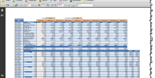Oil And Gas Economics Spreadsheet For Ten Reasons To Use Bloomberg Templates For Company Analysis