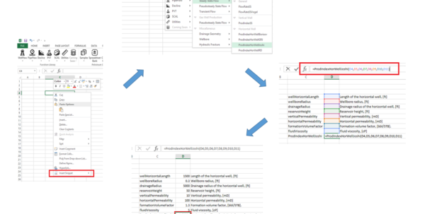 Oil And Gas Economics Spreadsheet In Petroleum Engineering Calculations In Microsoft Excel