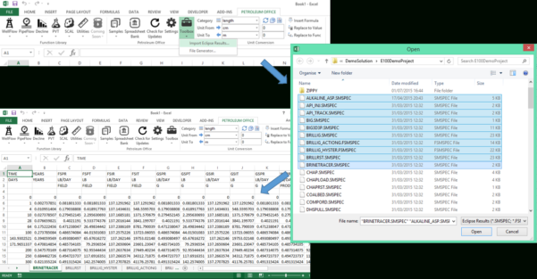 Oil And Gas Economics Spreadsheet Regarding Petroleum Engineering Calculations In Microsoft Excel