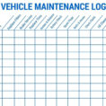 Oil Change Excel Spreadsheet Pertaining To 014 Auto Maintenance Schedule Spreadsheet Or Car With Vehicle