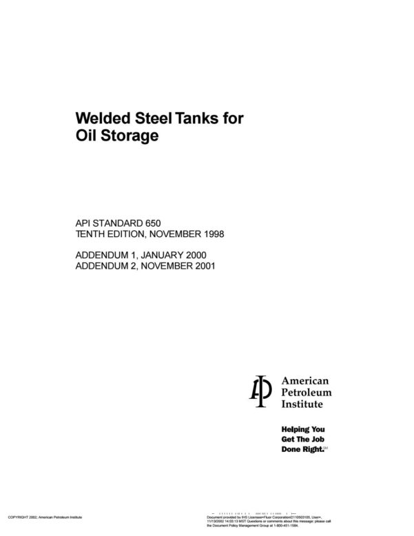 Oil Storage Tank Foundation Design Spreadsheet With Regard To Api 650 Welded Steel Tanks For Oil Storage 2Fabrizio Hernán